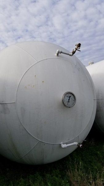 18000 Gallon Bullet Tank, 250WP