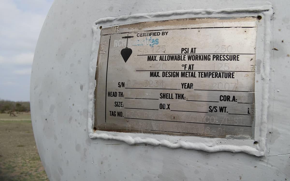 Reboiler, 125 MBTU, Glycol REG-P1065