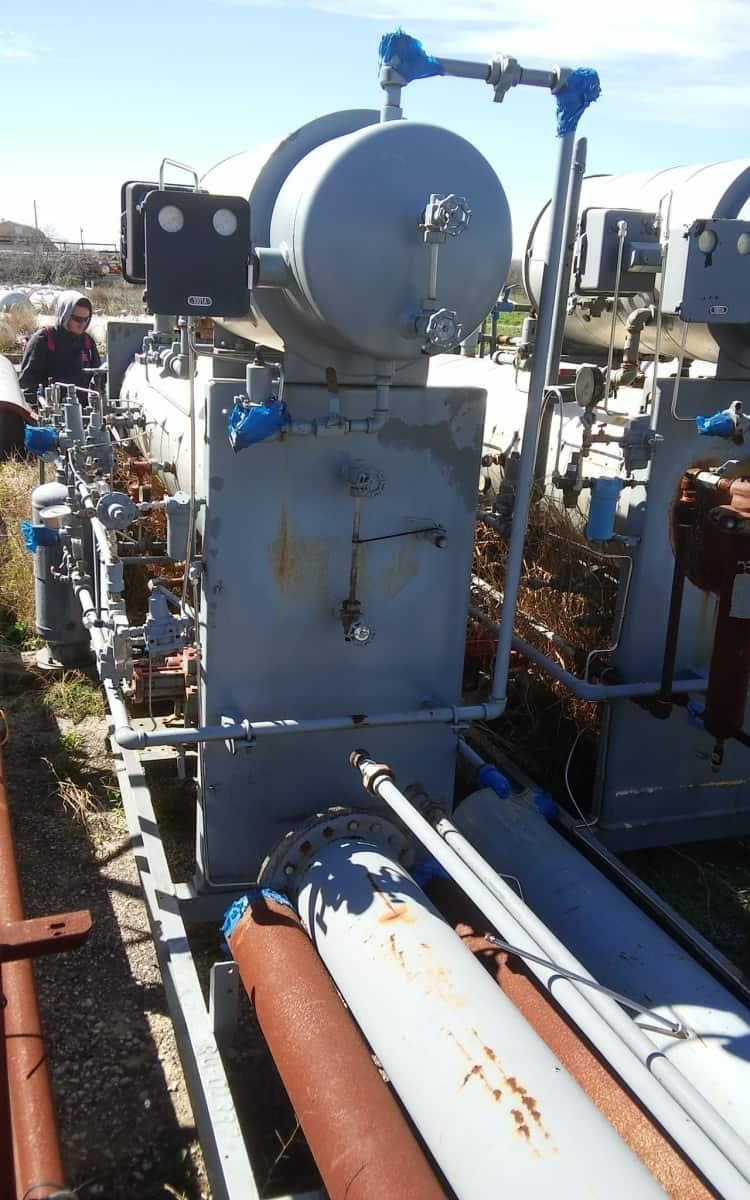 Reboiler, 200 MBTU, Glycol REB-0-2-10-175-1