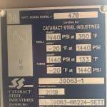 Shell & Tube Heat Exchanger plaque